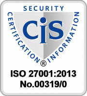 Logo der Zertifizierungsstelle CIS - Certification & Information Security Services GmbH